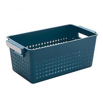 3Pcs multifunctionele holle opslag mand plastic drain basket desktop cosmetica opslag organisator