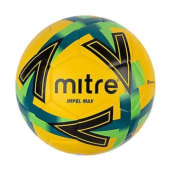 Mitre Impel Max koulutus jalkapallo jalkapallo jalkapallo keltainen / musta / sininen / vihreä