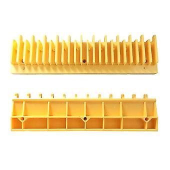 Escalator Yellow Plastic Demarcation L47332158a Left L47332140a