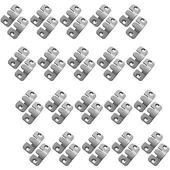 Små metall sektionsmöbler kontakter soffa väggfäste hängare spegel ram krokar panel hängare