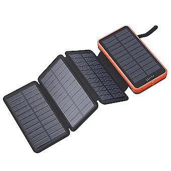 بنك الطاقة اللاسلكية للطاقة الشمسية بنك 10000mAh كبير قدرة بنك الطاقة بنك الطاقة