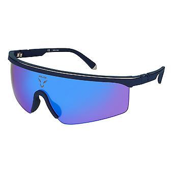Herren Sonnenbrille Police SPLA286C9B Blau