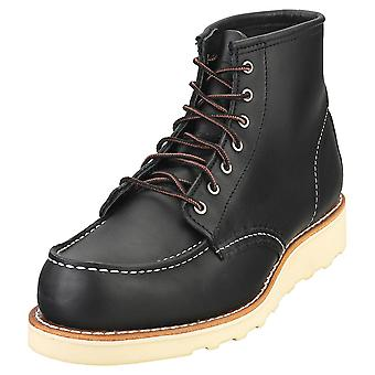 Red Wing 6-inch Classic Moc Womens Classic Boots in Black