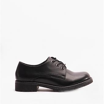 Heavenly Feet Angel2 Ladies Derby Shoes Black