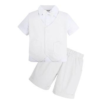 Vauvanvaatesarja Gentleman Shortsit Puku Vaatteet Puku