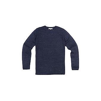 Shuuk Mäns Besättning Hals Långärmad Skjorta