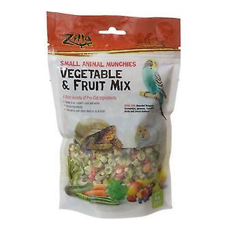 Zilla SmåDjur Munchies - Grönsaks & Frukt Mix - 4 oz