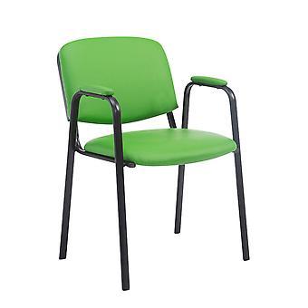 Silla de oficina - Silla de escritorio - Oficina en casa - Moderna - Verde - Metal
