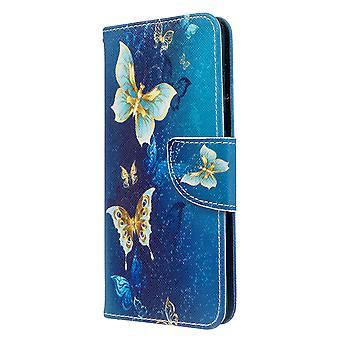 Samsung Galaxy S20 Modèle cas Papillon d'or