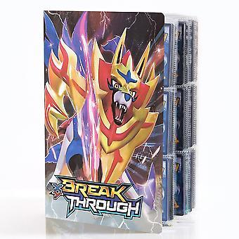 Pokmon Pokmon Card Album Book Cartoon Anime Pokmon Big 9 Pocket 432 Card Xy Pikachu Favorite Game Map Binder Gift