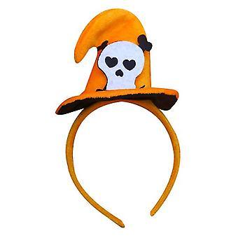 Halloween Witch Hat Pumpkin Hat Headband