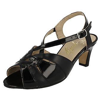 Ladies Equity Smart Peep Toe Slingback Sandals Sarah