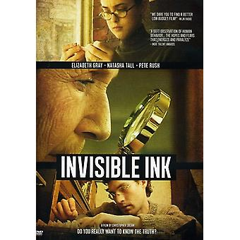 Invisible Ink [DVD] USA import