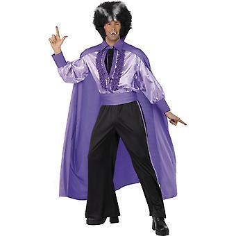 Disco Dracula 70er Dance Vampir Kostüm Herren Halloween