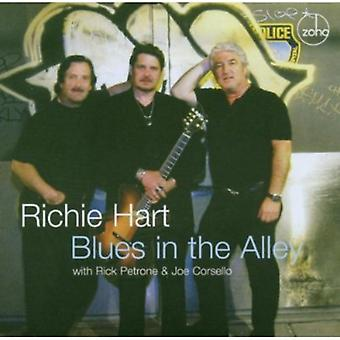 Richie Hart - Blues in the Alley [CD] USA import