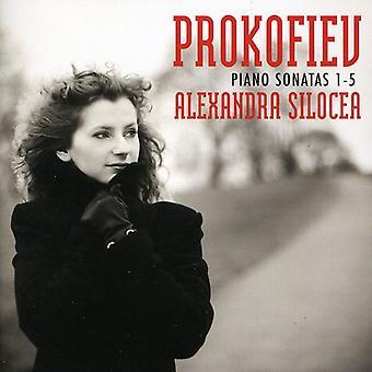 S. Prokofiev - Prokofiev: Piano Sonatas Nos. 1-5 [CD] USA import