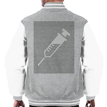 Trainspotting T2 script tű Silhouette férfiak ' s Varsity Jacket