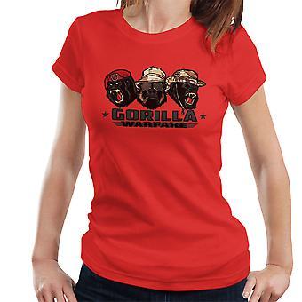 Gorilla Warfare Women's T-Shirt