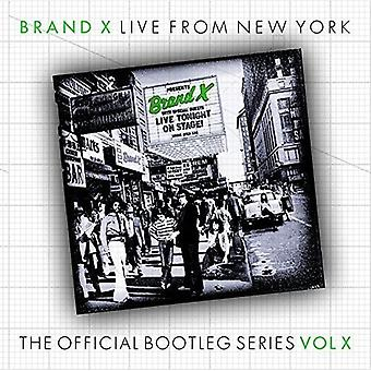 Brand X - Live in Rochester 1977 [CD] USA import