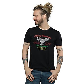 National Lampoon's Christmas Vacation Men's Moose Head T-Shirt