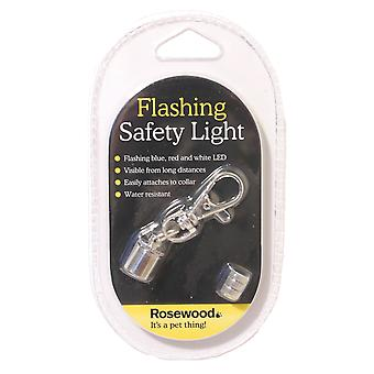 Rosewood Flashing Pet Safety Light