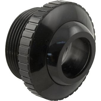 "Custom 25552-404-000 1.5"" MPT x 1"" Eye Outlet fitting Black"