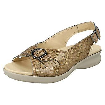 Damer lätt B bred passande sandaler Sicilly