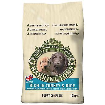 Harrington szczeniak żywności suchej mieszanki zakończyć bogate w Turcji i ryżu