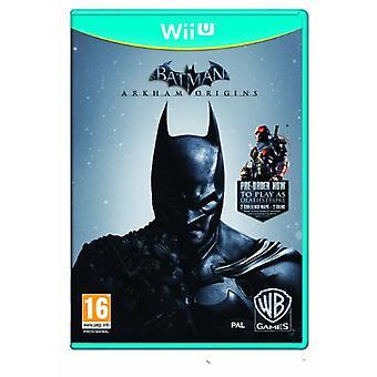 Batman Arkham Origins (Nintendo Wii U) - New