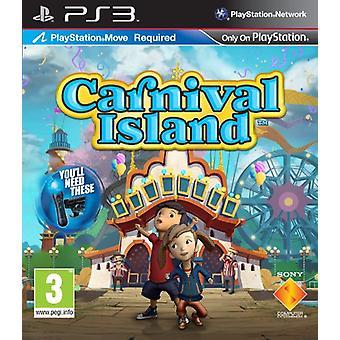Carnival Island - Move Required (PS3) - Novo