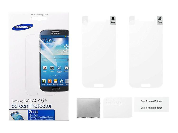 Samsung 2 piece screen protector FI950CTEGWW for Samsung Galaxy S4