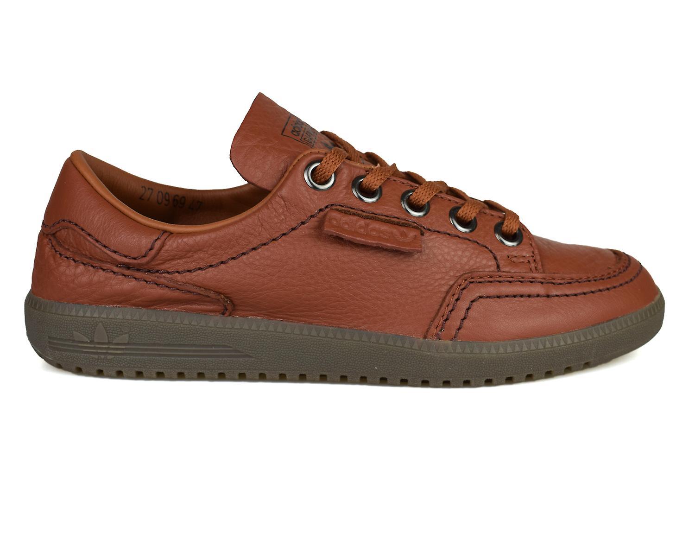 Adidas Originals SPZL Spezial Garwen Brown Leather Trainers BA7724