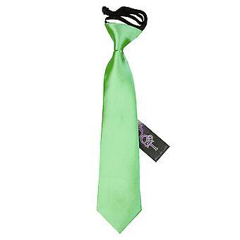 Lime Green Plain Satin elastische Binden für jungen