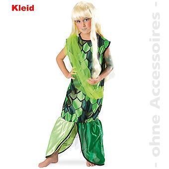Nixe Kostüm Meerjungfrau Kinder Fisch Mädchen Kinderkostüm