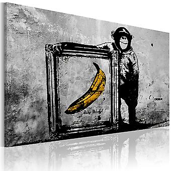 Wandbild - Inspired by Banksy - black and white