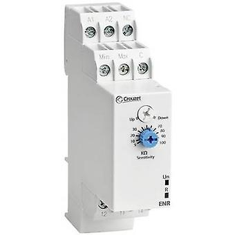 Crouzet Monitoring relay 24 V DC, 24 V AC, 240 V DC, 240 V AC 1 change-over 1 pc(s) ENR Fluid level monitoring