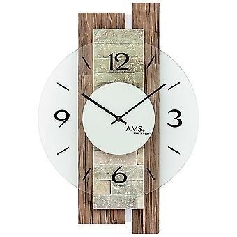 Horloge murale AMS - 9543
