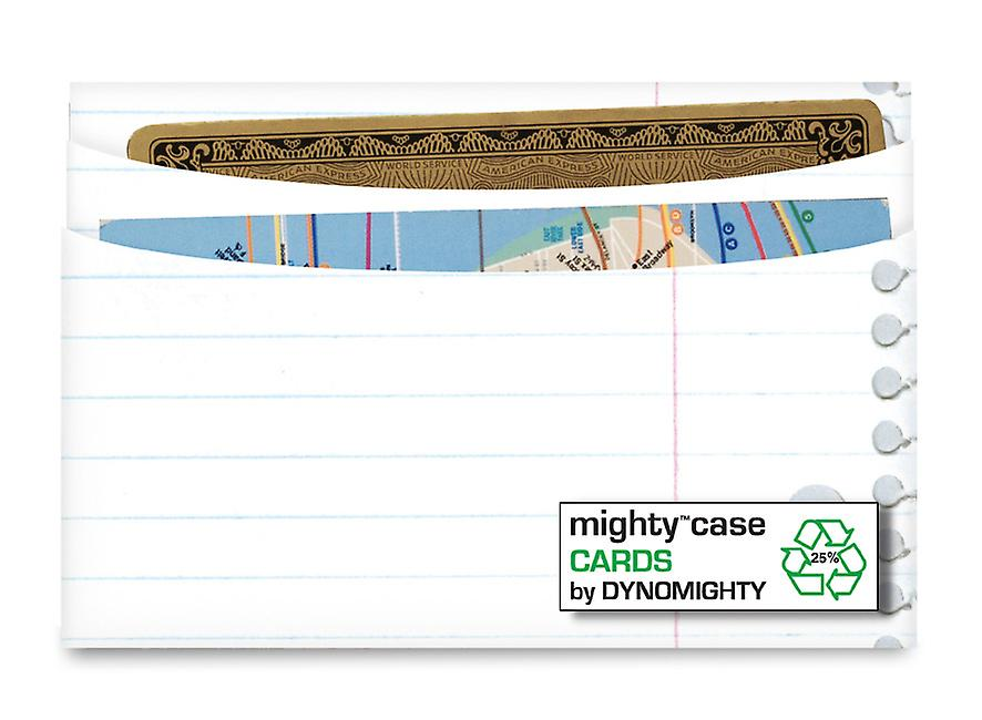 Cas 3 Ring Binder carte Mighty Dynomighty