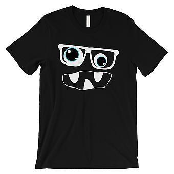 الوحش مع القميص الأسود رجالي نظارات