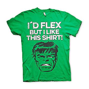 Flex Hulk t-paita