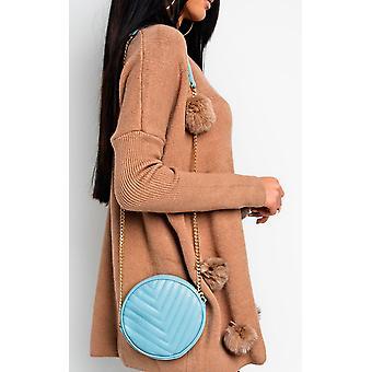 IKRUSH Womens Lorna matelassé sac à bandoulière