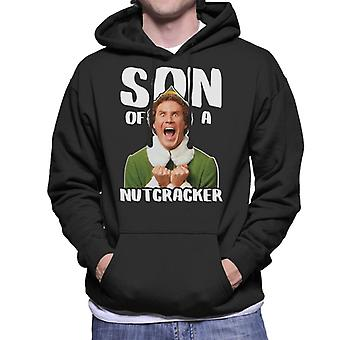 Christmas Will Ferrell Elf Son Of A Nutcracker Men's Hooded Sweatshirt