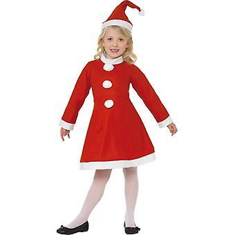 Smiffy Wert Santa Girl Kostüm