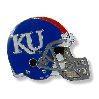 Kansas Jayhawks NCAA casque Pin