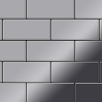 Metal mozaic din oțel inoxidabil aliaj de metrou-S-S-M