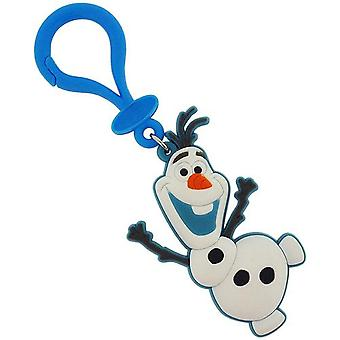 Disney Frozen Boys Or Girls Olaf Soft Touch Rubber Keyring SC1065