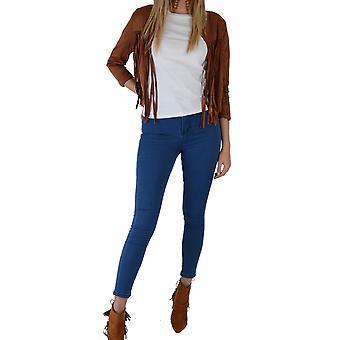 Lovemystyle Indigo blå høj talje Skinny Jeans