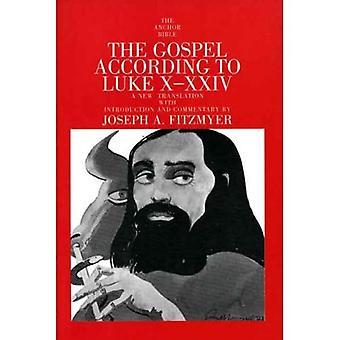 Evangeliet enligt Lukas X-XXIV