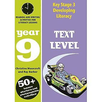 Viktig fase 3 utvikle leseferdighet: Tekstnivå: år 9: forståelse aktiviteter for Literacy Lessions (Developings)