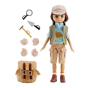 Lottie Doll Fossil Hunter with Outfit Accessories Set Tangle Resistant Hair
